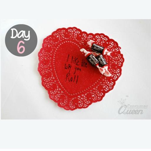 14 Days of Valentines Day 6 Valentine Tootsie Roll Idea