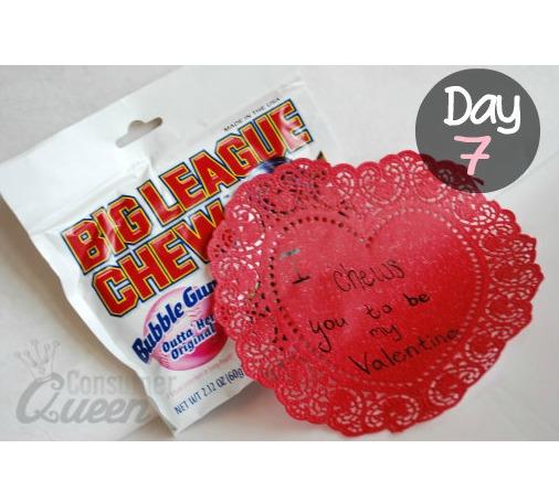 14 Days of Valentines Day 7 Valentines Bubble Gum Idea