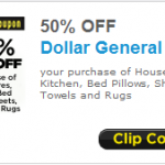 50% Off Dollar General Coupon