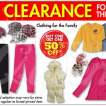 Family Dollar: BOGO 50% Off Clearanced Winter Clothing!