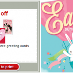Easter Card Coupons: Nice Stack at Target