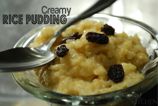 Creamy Rice Pudding - ConsumerQueen.com- Oklahoma's Coupon Queen