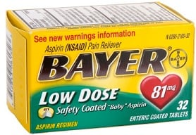 Bayer Low Dose Aspirin 24 162 At Walgreens