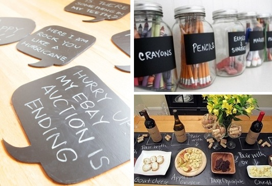 Chalkboard contact paper just craft ideas for Promo code for consumer crafts