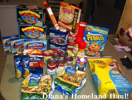 diana's_Homeland_haul