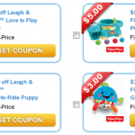 Fisher-Price Coupons Are Back + Target Deals!