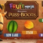 FREE Puss In Boots Fruit Ninja App For Android
