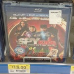 "Walmart: Spy Kids ""All the Time in the World"" Blu-ray + DVD + Digital Only 10.00!"