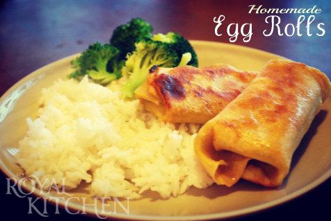 Homemade Egg Rolls! So easy…who knew?!