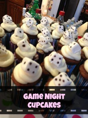 Game Night Cupcakes!