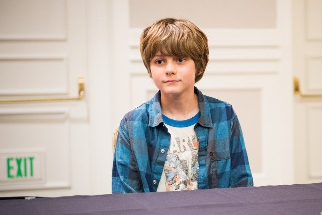 My Interview with Ty Simpkins #IronMan3Event