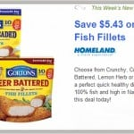 New Aisle50: Save $5.43 on Gorton's Fish Fillets
