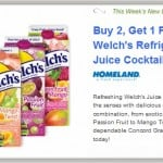 New Aisle50: Buy 2 Get 1 FREE Welch's Refrigerated Juice + FREE Nalgene Bottle