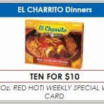Homeland/Country Mart: El Charrito Frozen Dinners Just 25¢