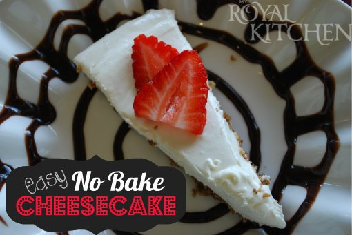 No Bake Cheesecake…only 4 ingredients!