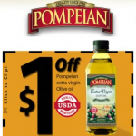 Pompeian Olive Oil as Low as 69¢ at Homeland!