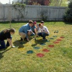 Lawn Twister! Fun Party Game Idea!