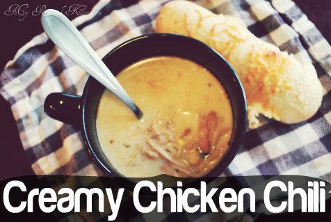Creamy Chicken Chili