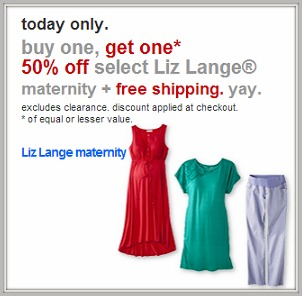 57e600dd85b14 Target has a new Cartwheel offer for 40% off maternity dresses.