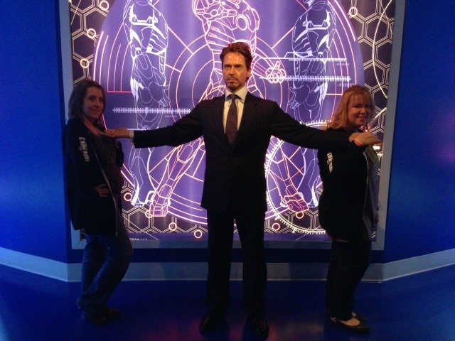 Madame Tussauds Wax Museum #IronMan3Event