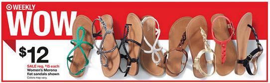 target_merona_sandals