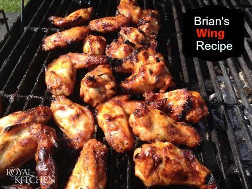 Brian's Wing Recipe