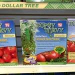 Topsy Turvy Tomato Planters at Dollar Tree!