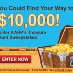 AARP Treasure Hunt Sweepstakes