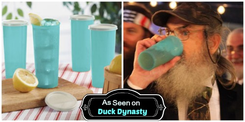Duck Dynasty Tea glass