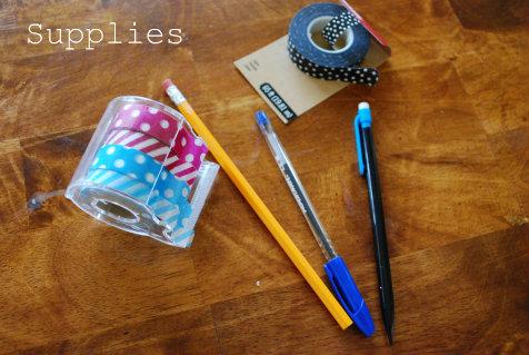washi tape supplies