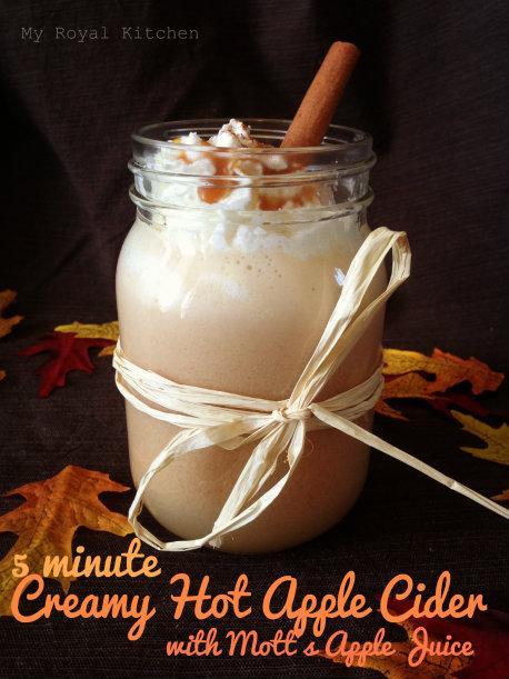 #HarvestFun Creamy Hot Apple Cider #shop