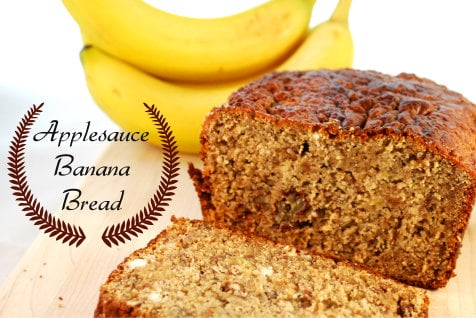 Applesauce Banana Bread