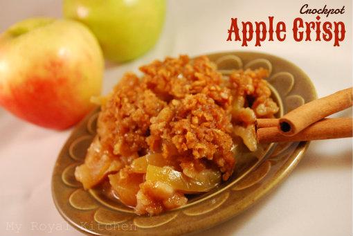 Crockpot Apple Crisp