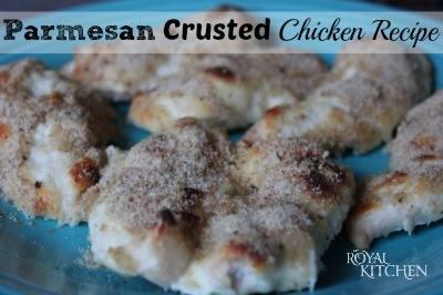 Parmesean Crusted Chicken