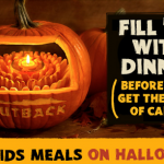 Outback: FREE Kid's Meal On Halloween w/Purchase!