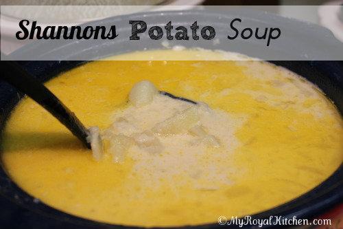 shannons potato soup recipe