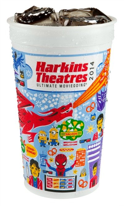 Harkins 2014 Loyalty Cup - Product Art
