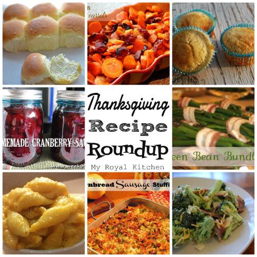 Thanksgiving Recipe Round Up!