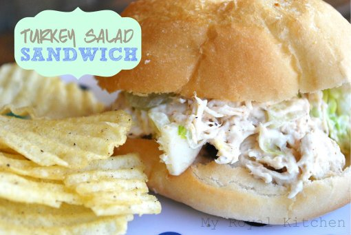 Turkey Salad Sandwich- Good Cook Kitchen Experts Leftovers #64
