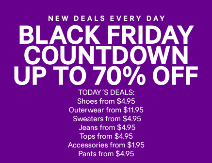 H&M, Hennes & Mauritz, announced the first Black Friday fashion collection for ladies, men's, kids and home available for a limited time from November 25th in stores and on online at newuz.tk