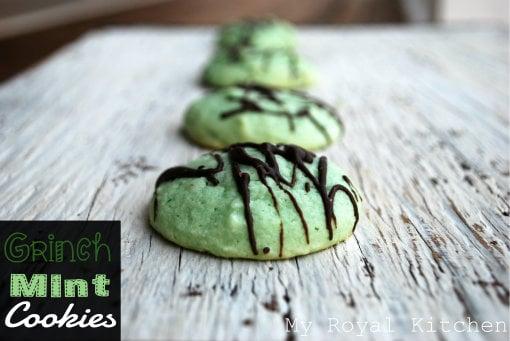 Grinch Mint Cookies