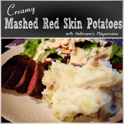 Creamy Mashed Red Skin Potatoes!
