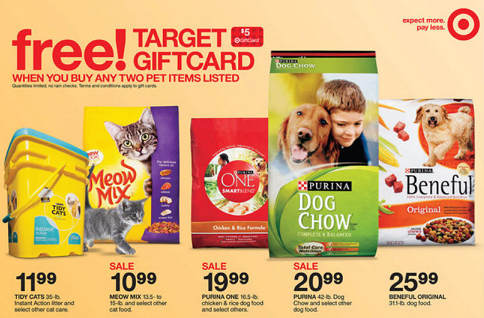 Nice Deal on Purina One Dog Food at Target – Today Only!