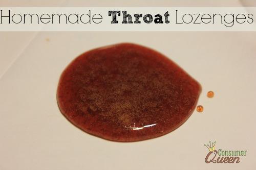 Homemade Throat Lozenges