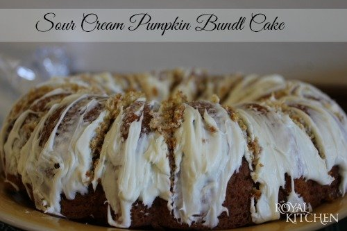 ... pumpkin in it this sour cream pumpkin bundt cake is a delicious