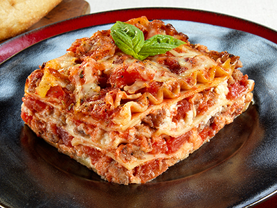 Red Gold Tomato's Basic Lasagna