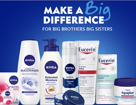 FREE Sample of Nivea or Eucerine!