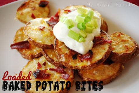 Bake Potato Bites