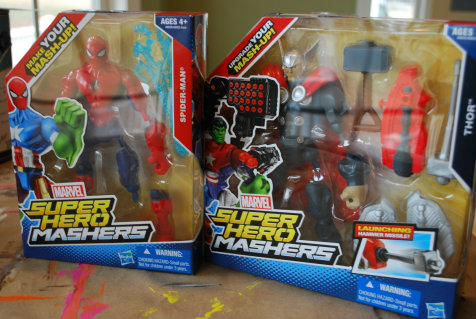 My Review of the New Marvel Super Hero Mashers!
