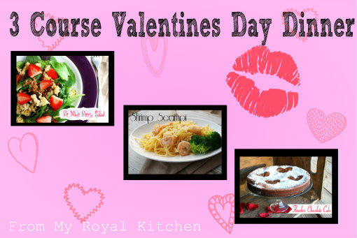 3 course valentine 39 s day menu for Valentine s day meals to cook together
